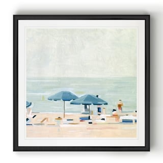 If It's the Beaches I  -Black Framed Print