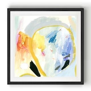 Love Language I  -Black Framed Print