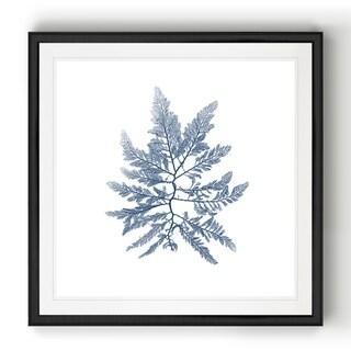 Link to Navy Seaweed II  -Black Framed Print Similar Items in Art Prints
