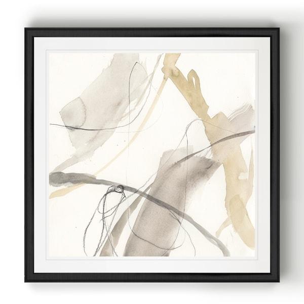 Neutral Momentum II -Black Framed Print. Opens flyout.
