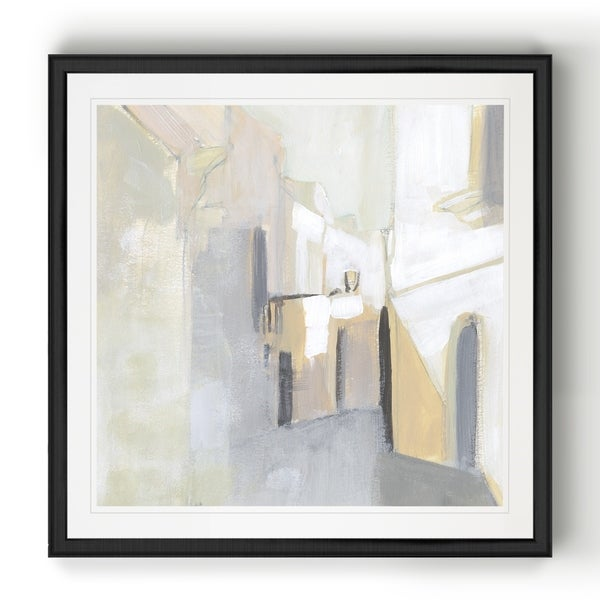 Pausa II -Black Framed Print
