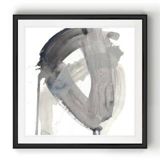 Swath III -Black Framed Print