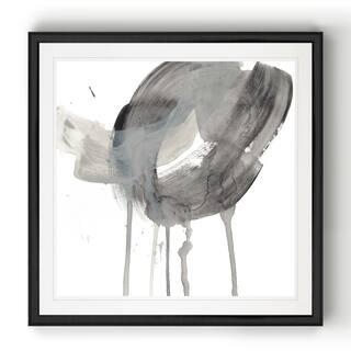 Swath II -Black Framed Print