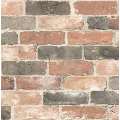 DonaldRed Reclaimed Bricks Wallpaper