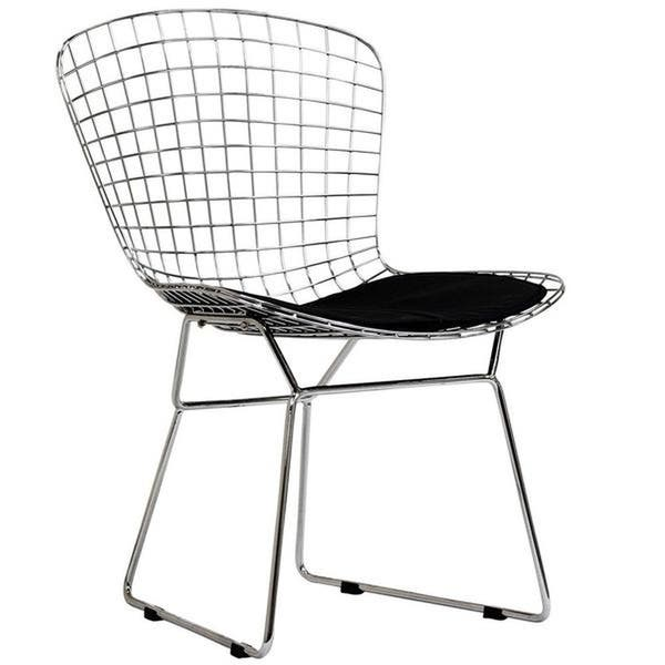 Phenomenal Shop Veros Bertoia Style Wire Dining Chair Free Shipping Theyellowbook Wood Chair Design Ideas Theyellowbookinfo