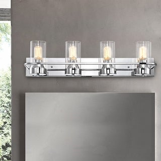 Link to Copper Grove Loria 4-light Chrome Bath/Vanity Fixture Similar Items in Bathroom Vanity Lights
