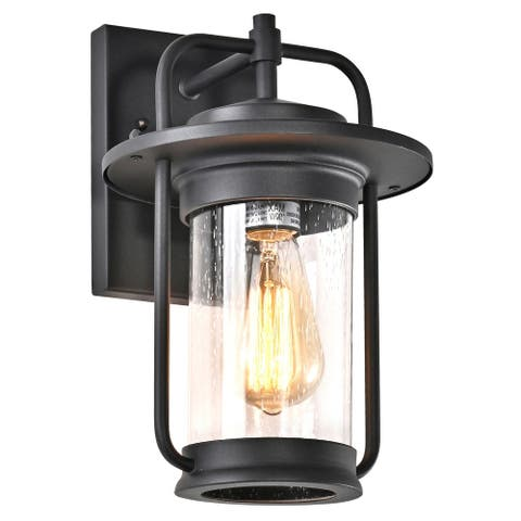 Starlee Lantern Outdoor Wall Fixture by Havenside Home