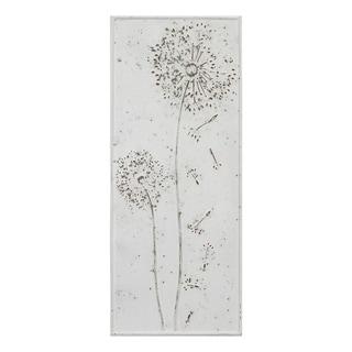 Stratton Home Decor Dandelion Metal Panel Wall Decor