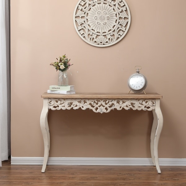 The Curated Nomad Anin Victorian Console and Entry Table