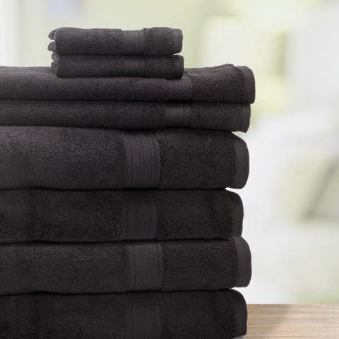 Kotter Home 8-Piece Supima Bath Towel Set