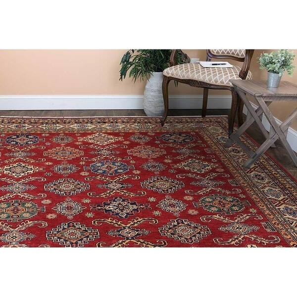 Super Fine Tribal Kazak Kassandr Red Beige Hand Knotted Wool Rug 8 2 X 10 3 8 2 X 10 3 8 2 X 10 3 On Sale Overstock 29739434