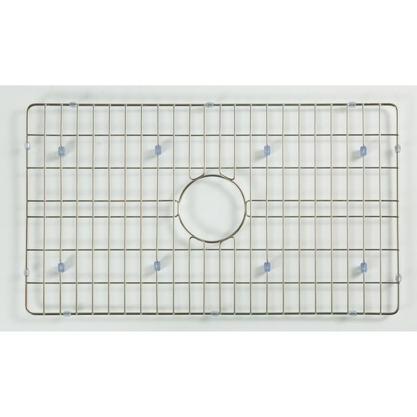"Stainless Steel 24.5"" L x 15.5"" W Basin Rack"