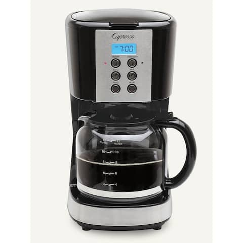 Capresso 12 Cup Programmable Coffee Maker 414.01