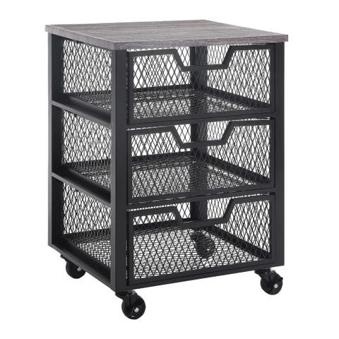 Jarrett Multiple Drawer Rolling Cart