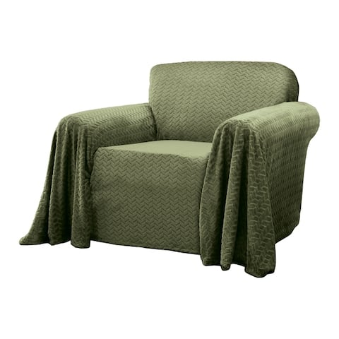 Innovative Textile Solutions Mason Furniture Throw Chair Slipcover