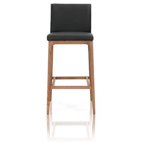 Conner Leather Barstool