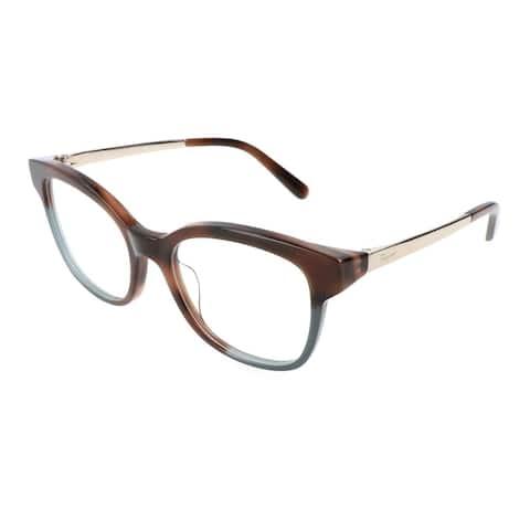 Ferragamo Rx SF2776 Tortoise-Green Women Eyeglasses