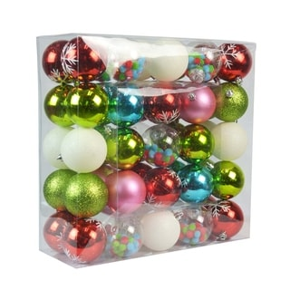 Link to 50 Pk Christmas Ornament Elegant Wonder Dec Orn Set - N/A Similar Items in Christmas Decorations