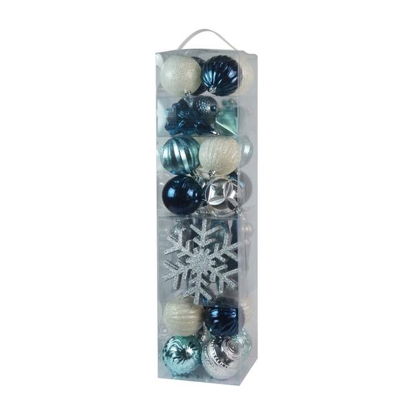 Combo 40Pk Asst Styles -Silver/blue/white - N/A. Opens flyout.