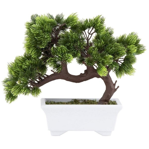 Artificial Bonsai Tree - Fake Plant Decoration, Potted Artificial House Plants. Opens flyout.