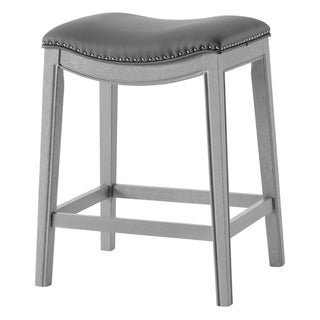 Link to Grover PU Leather Counter Stool Similar Items in Dining Room & Bar Furniture