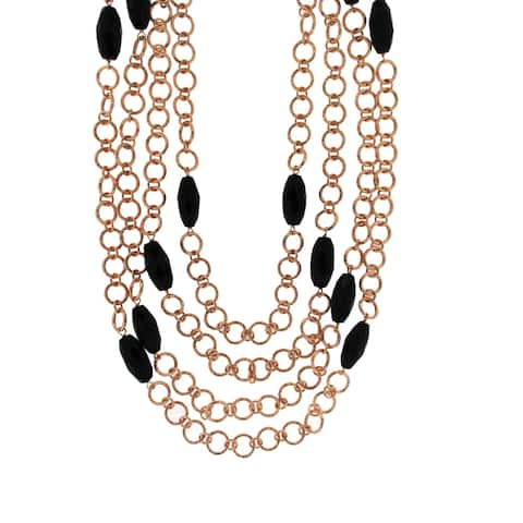 Forever Last 18 k Gold Overlay Chain Necklace