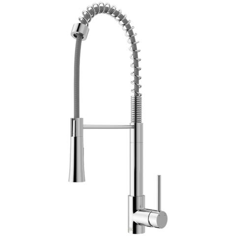VIGO Laurelton Pull-Down Spray Kitchen Faucet in Chrome