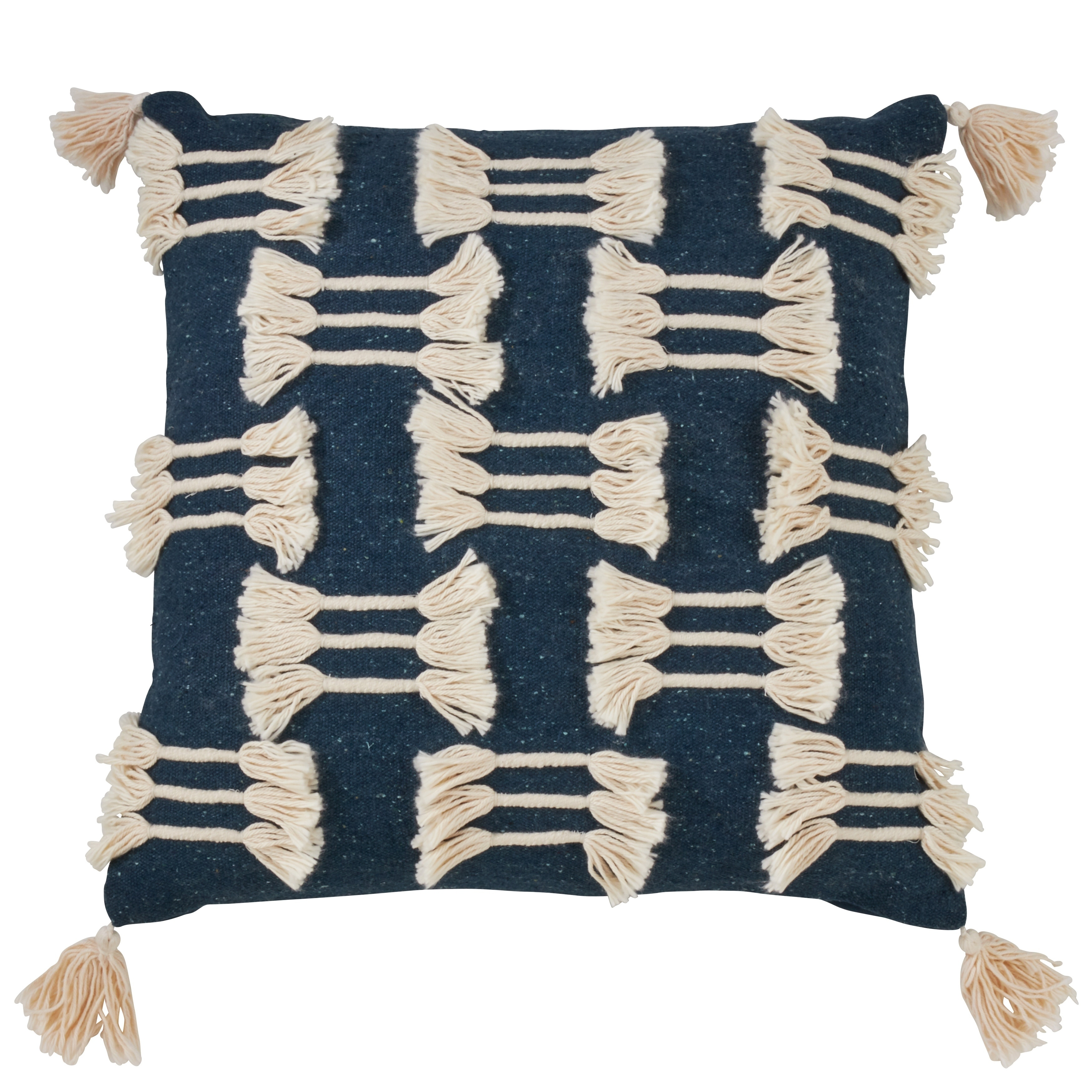 Shop For Frayed Design Cotton Throw Pillow Get Free Shipping On Everything At Overstock Your Online Home Decor Outlet Store Get 5 In Rewards With Club O 29745854