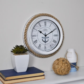 FirsTime & Co.® Dock Rope Wall Clock - 10""