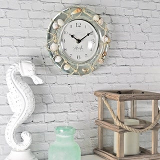 FirsTime & Co.® Sea Float Wall Clock - 8""