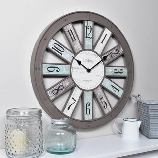 FirsTime & Co.® Numeral Spokes Wall Clock - 16""