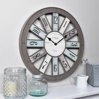 """FirsTime & Co.® Numeral Spokes Wall Clock - 16"""""""
