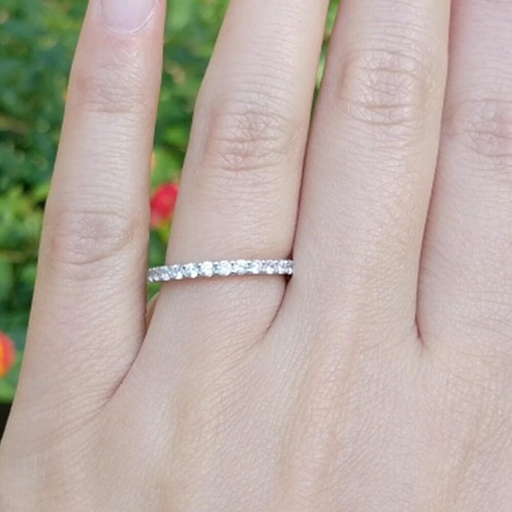West Coast Jewelry Sterling Silver Pink CZ Flower Kids Ring