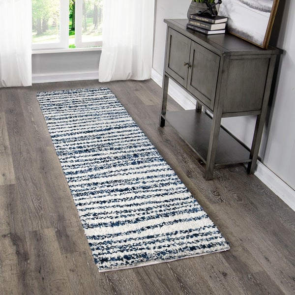 """Palmetto Living Jennifer Adams Cotton Tail Knitted All Over Runner - 2'3"""" x 8'"""