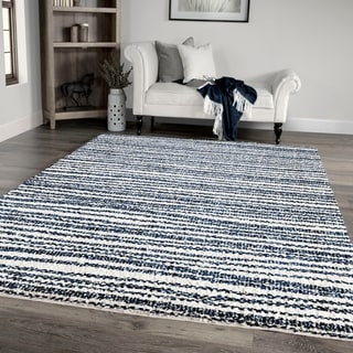 Palmetto Living Jennifer Adams Cotton Tail Knitted All Over Area Rug - 9' x 13'