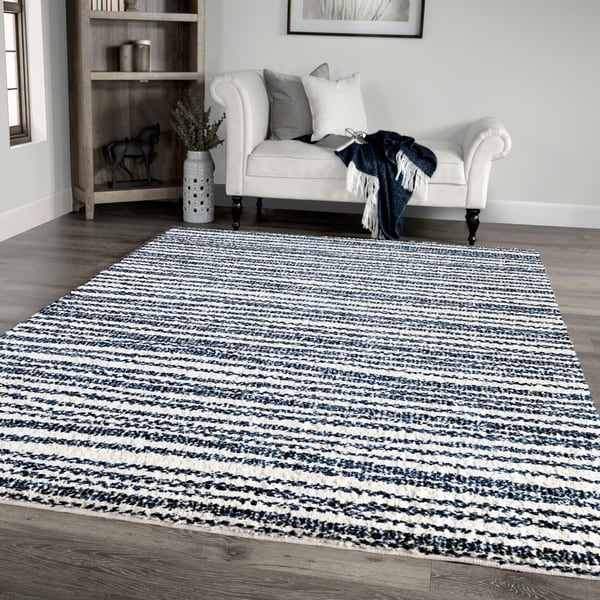 """Palmetto Living Jennifer Adams Cotton Tail Knitted All Over Area Rug - 7'10"""" x 10'10"""""""