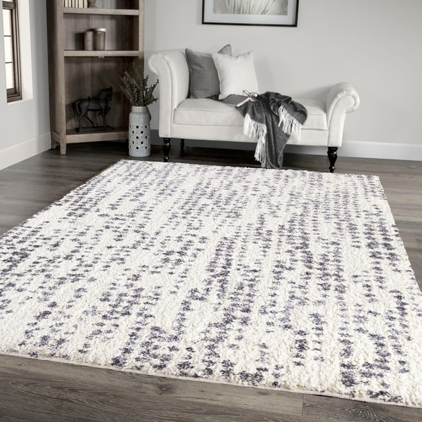 "Palmetto Living Jennifer Adams Cotton Tail Textured Dots Area Rug - 7'10"" x 10'10"""