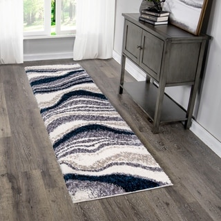 "Palmetto Living Cotton Tail Buttery-Soft Agate Denim Runner - 2'3"" x 8'"