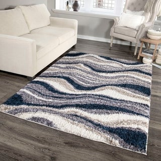 """Palmetto Living Cotton Tail Buttery-Soft Agate Denim Area Rug - 5'3"""" x 7'6"""""""