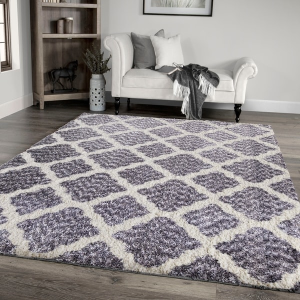 "Palmetto Living Cotton Tail Buttery-Soft Belmar Grey Area Rug - 5'3"" x 7'6"""
