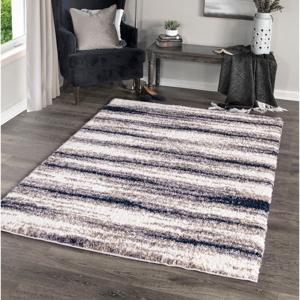 """Palmetto Living Cotton Tail Buttery-Soft Stone Ombre Area Rug - 5'3"""" x 7'6"""""""