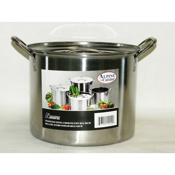 6QT Stainless Steel Stockpot Pot. Opens flyout.