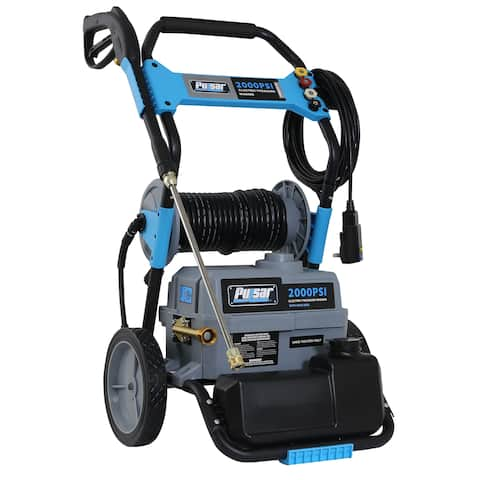 Pulsar 2,000 PSI Electric Pressure Washer with Hose Reel - N/A
