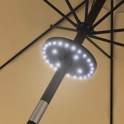 Cordless LED Patio Umbrella Light by Pure Garden