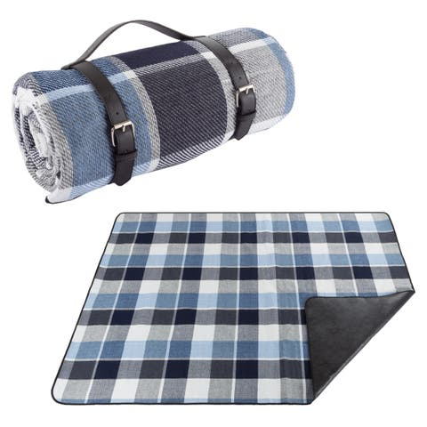 Outdoor Waterproof Picnic Blanket by Wakeman Outdoors - N/A