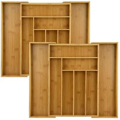 Heim Concept 2-Piece Extendable 6 - 8 Slots Organizer Combo