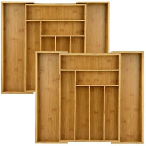 Heim Concept 2-Piece Extendable 6 - 8 Slots Organizer Combo - N/A