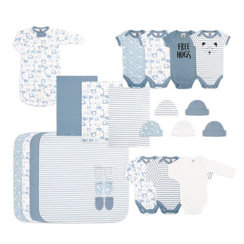 PS by The Peanutshell 23 Piece Layette Set - Blue