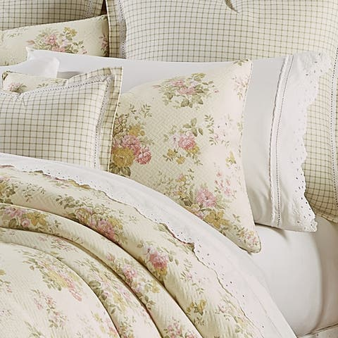 Five Queens Court Jocelyn Cottage Floral 3 Piece Comforter Set