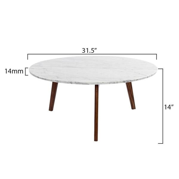 The Versatile Italian Carrara White Marble Coffee Table For Everyday Decoration